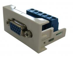 Plate ar VGA ligzdu REHAU-VGA