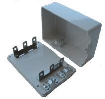 Kārba ar trijiem stiprinājumiem LSA moduļiem DB-2300-30