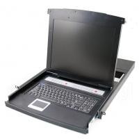 1U Izbīdāms plaukts ar klaviatūru RIC-1708US